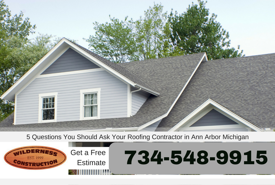 5 Questions You Should Ask Your Roofing Contractor in Ann Arbor Michigan