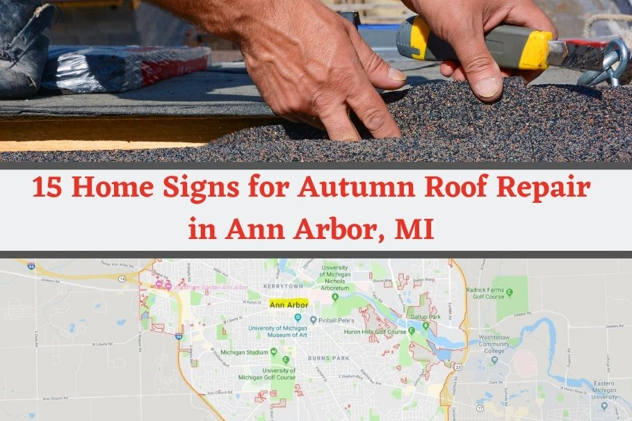 Roof Repair Ann Arbor MI