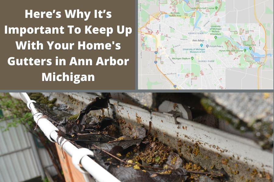Roof Gutters in Ann Arbor MI