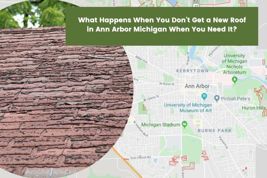 Roofing Leaks in Ann Arbor MI